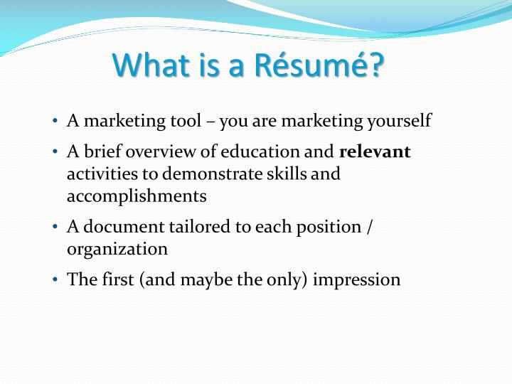 ppt writing your r 233 sum 233 career center workshop