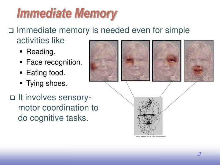Immediate Memory