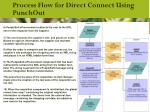 process flow for direct connect using punchout1