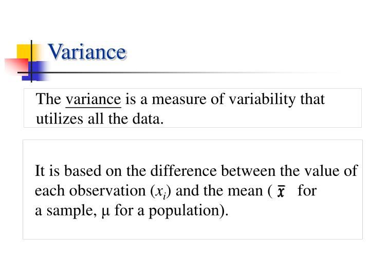 It is based on the difference between the value of