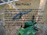 bad points