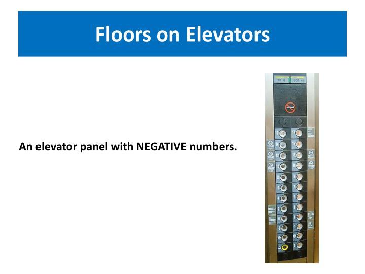Floors on Elevators