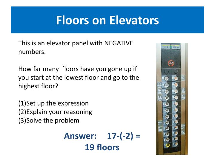 Floors on Elevators