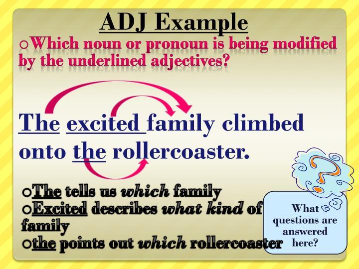 ADJ Example