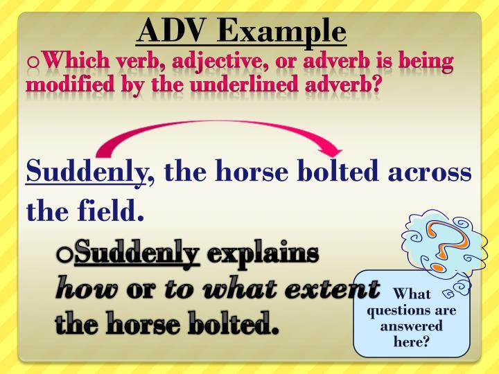 ADV Example