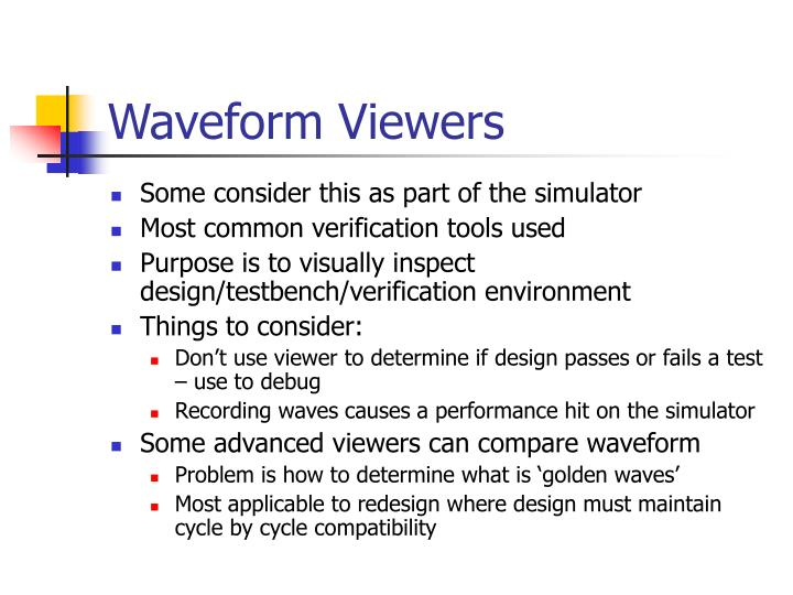 Waveform Viewers