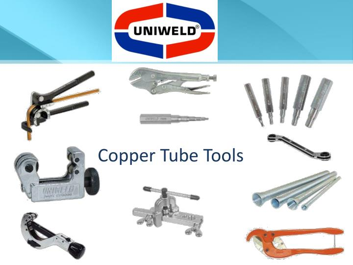 Copper Tube Tools