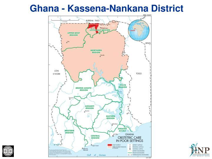 Ghana - Kassena-Nankana District