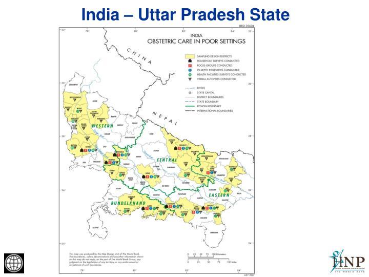 India – Uttar Pradesh State