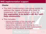 nhs implementation support2