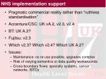 nhs implementation support4