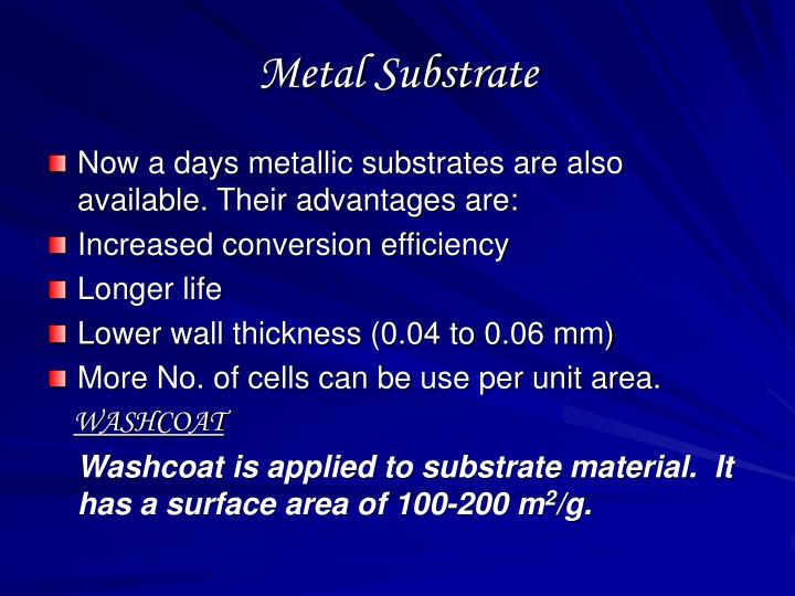 Metal Substrate