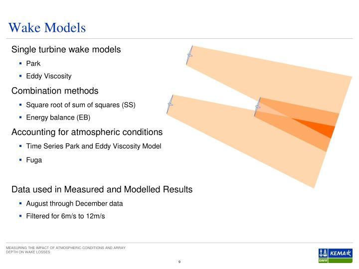 Wake Models