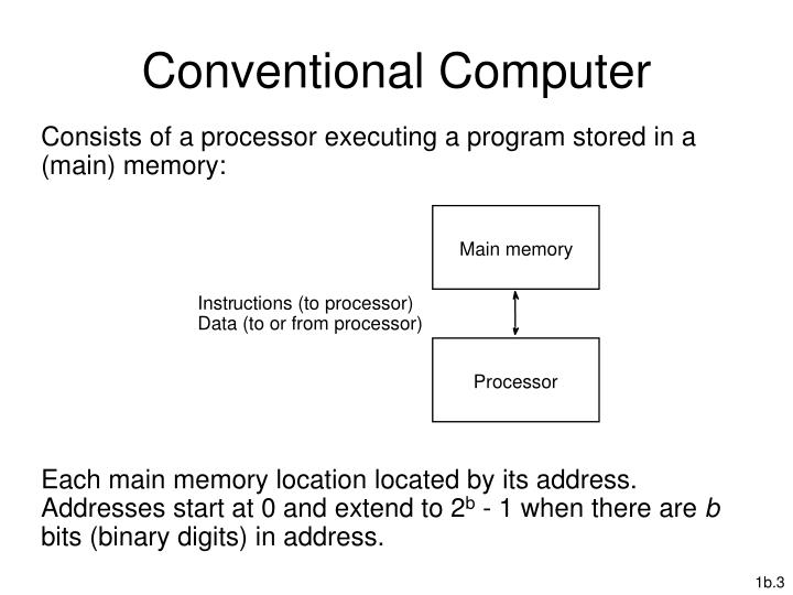 Conventional Computer