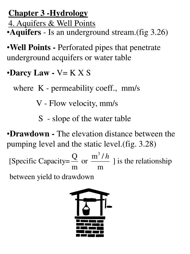 Chapter 3 -Hydrology