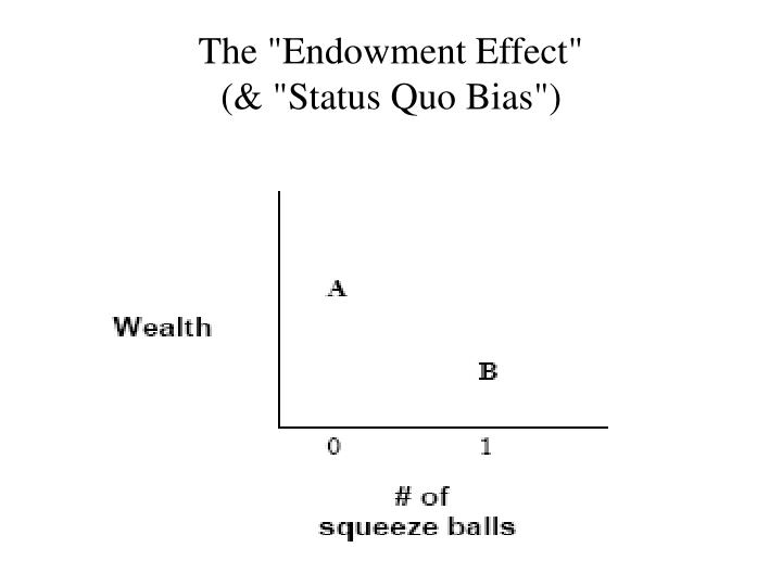 "The ""Endowment Effect"""