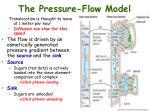 the pressure flow model