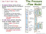 the pressure flow model1
