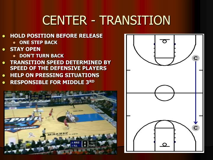 CENTER - TRANSITION