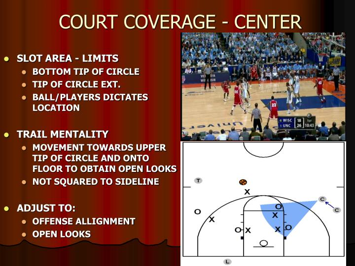 COURT COVERAGE - CENTER
