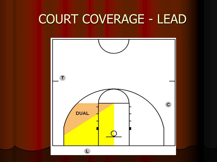 COURT COVERAGE - LEAD