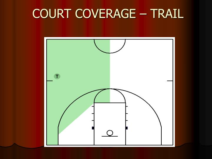 COURT COVERAGE – TRAIL