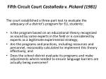 fifth circuit court casta eda v pickard 1981