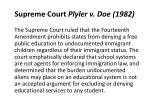 supreme court plyler v doe 1982