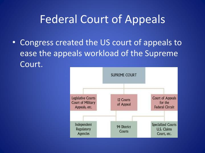 Federal Court of Appeals