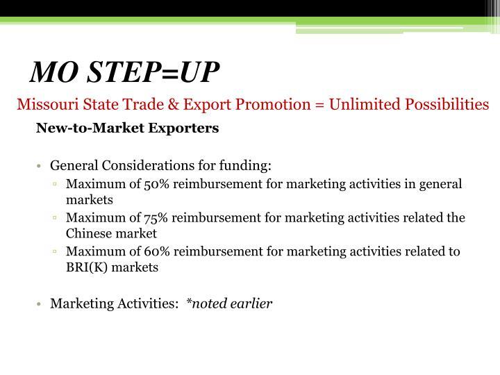 MO STEP=UP