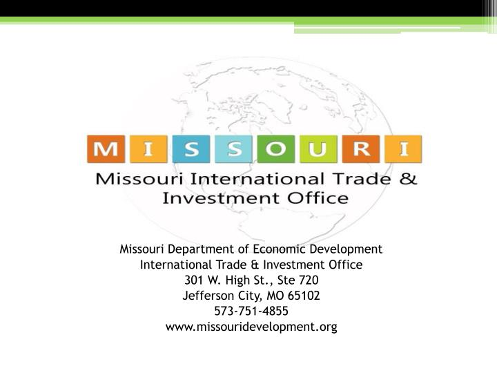 Missouri Department of Economic Development