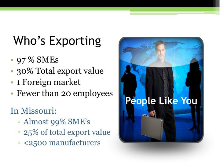 Who s exporting