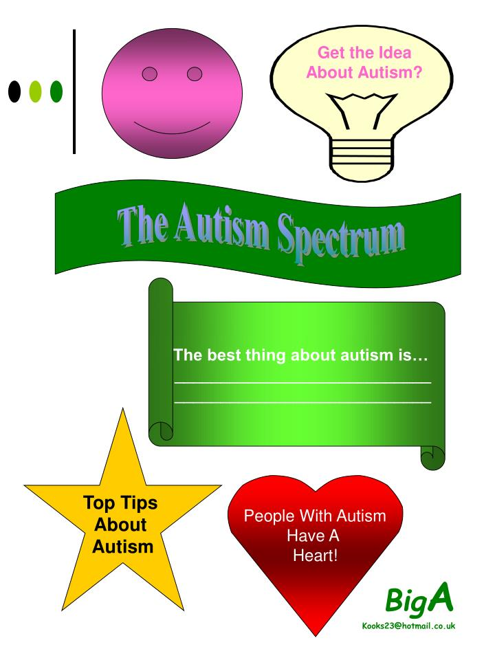 Get the Idea About Autism?