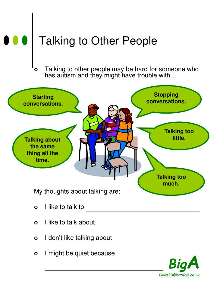 Talking to Other People