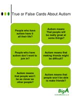 true or false cards about autism1