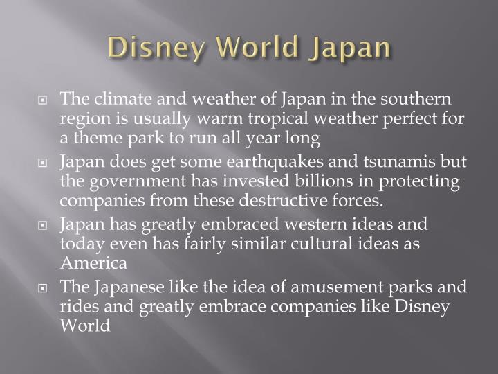 Disney World Japan