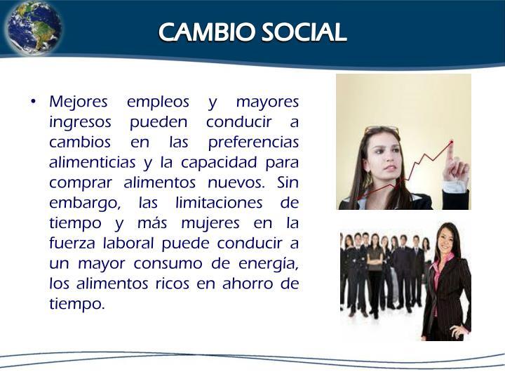CAMBIO SOCIAL