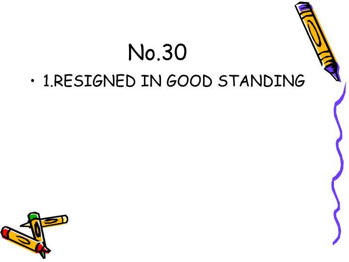 No.30