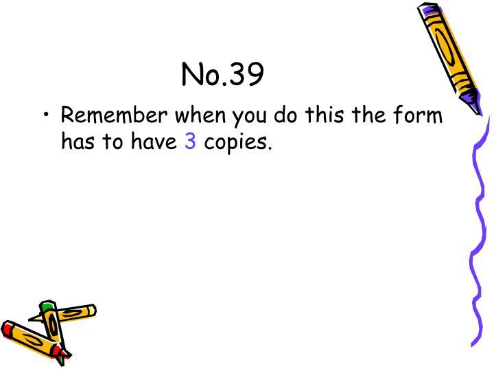 No.39