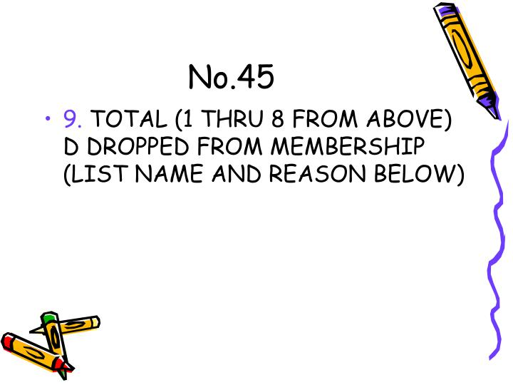 No.45