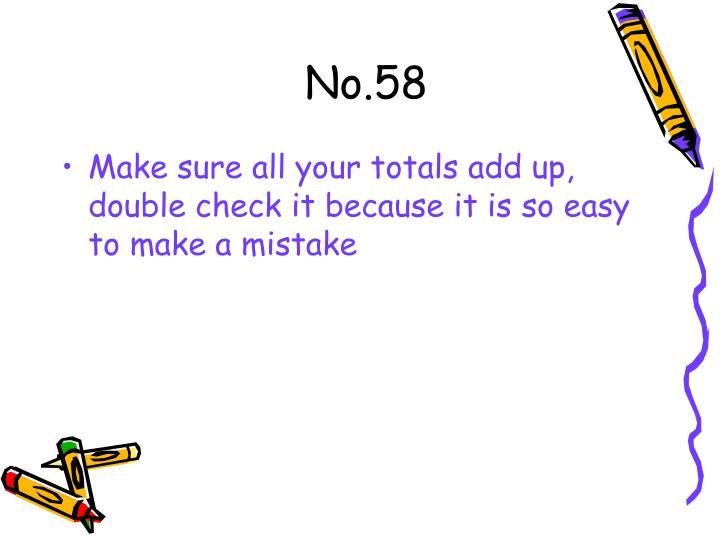 No.58