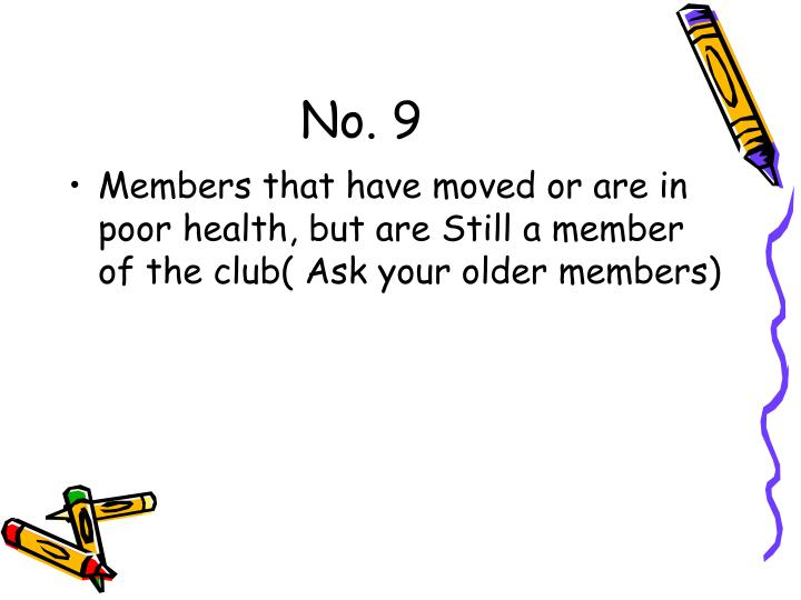 No. 9