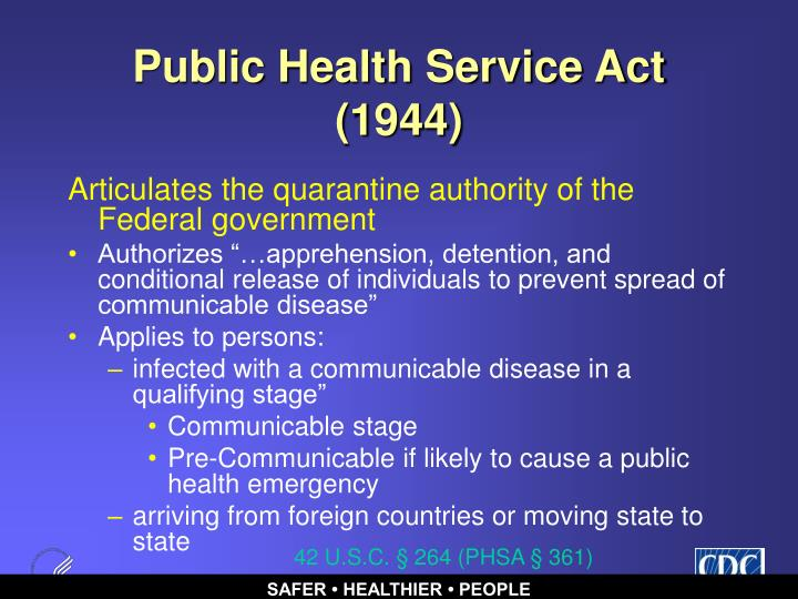 Public Health Service Act (1944)