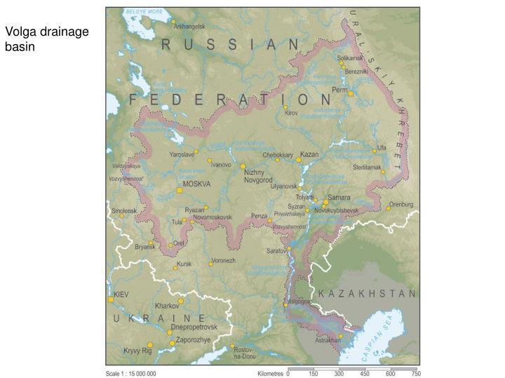 Volga drainage basin