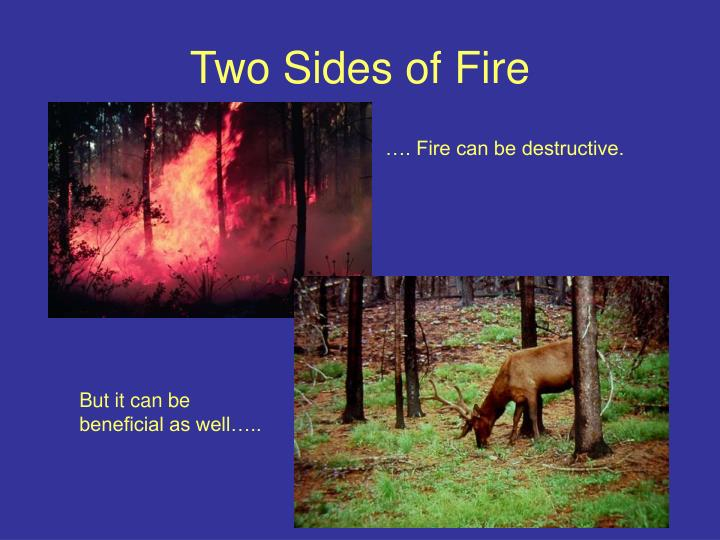 Two Sides of Fire