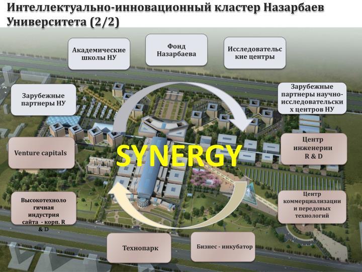 Интеллектуально-инновационный кластер Назарбаев Университета