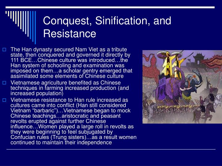 Conquest, Sinification, and Resistance