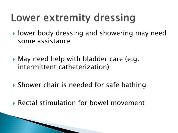 Lower extremity dressing