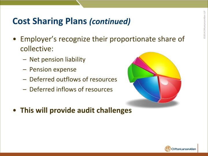 Cost Sharing Plans