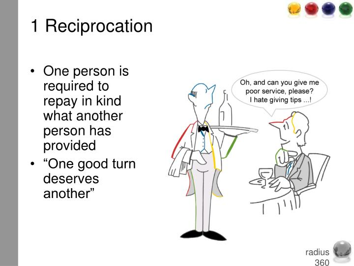 1 Reciprocation